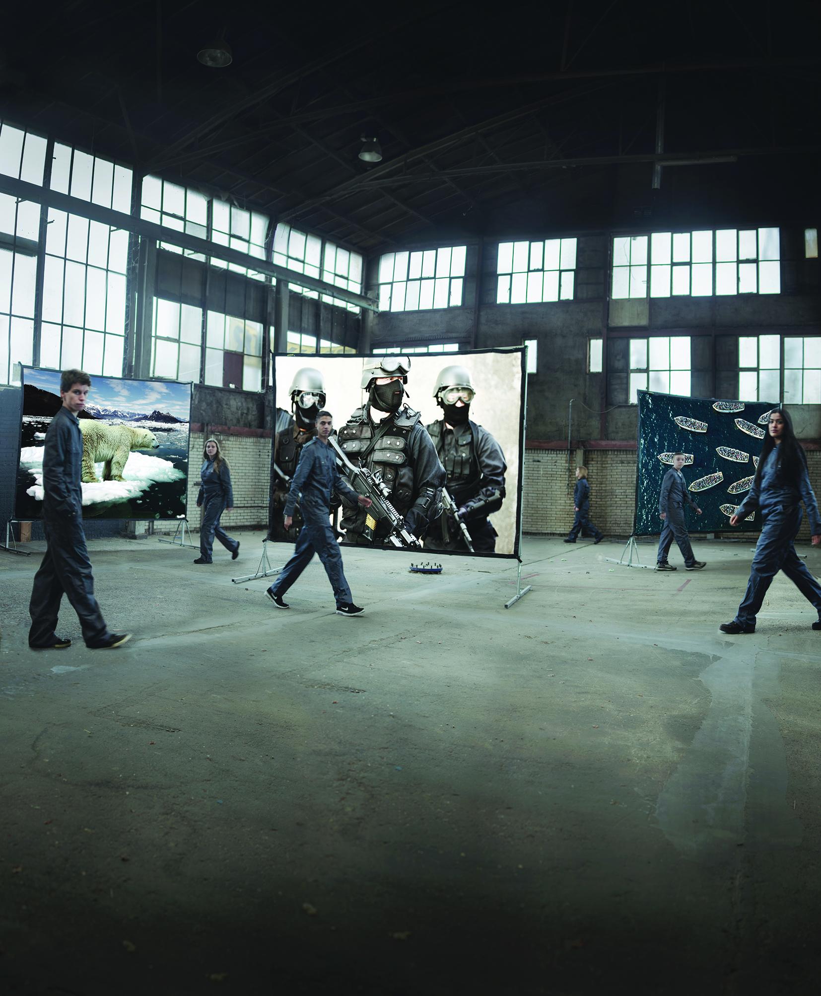 Afbeelding Angstfabriek - Critical Mass - Theaterwijzer